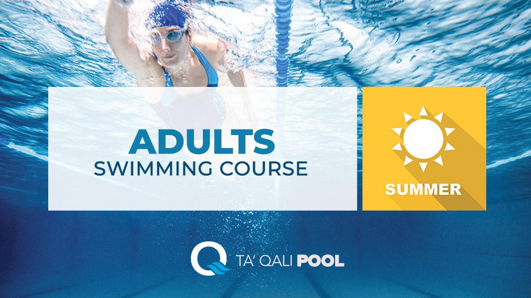 Adults Swimming course Malta